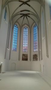 Beispielhafte Umnutzung eines Sakralbaus in einen Veranstaltungsraum (Universiät Bamberg)